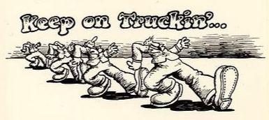 Keep on Truckin' cartoon